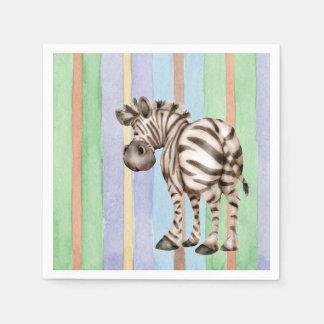 Zebra Serviette
