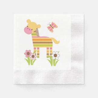 Zebra-Servietten Servietten