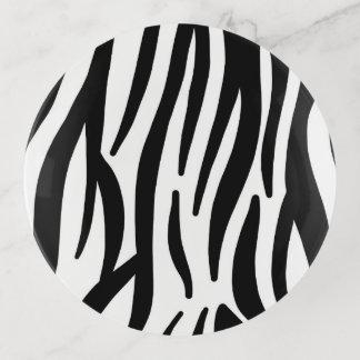 Zebra-Streifen Dekoschale