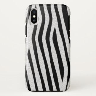 Zebra-Streifen iPhone X Hülle