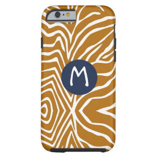 Zebra-Streifen jede mögliche Farbe personifizieren Tough iPhone 6 Hülle