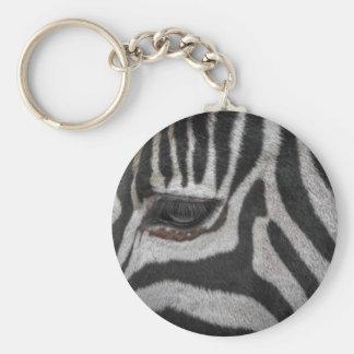 Zebra-Streifen Schlüsselanhänger