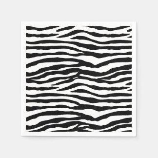 Zebra-Streifen Serviette