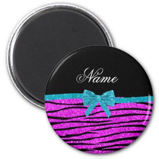 Zebra-Streifenneonbogen Glitter des individuellen Magnets