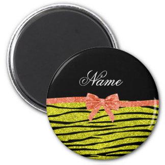 Zebra-Streifenneonbogen Glitter des individuellen  Magnete