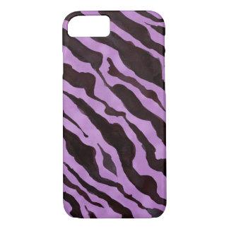 Zebra-Tierhaut-Muster-Modmoderner Chic iPhone 8/7 Hülle
