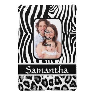 Zebra- und Geparddruck iPad Mini Hülle