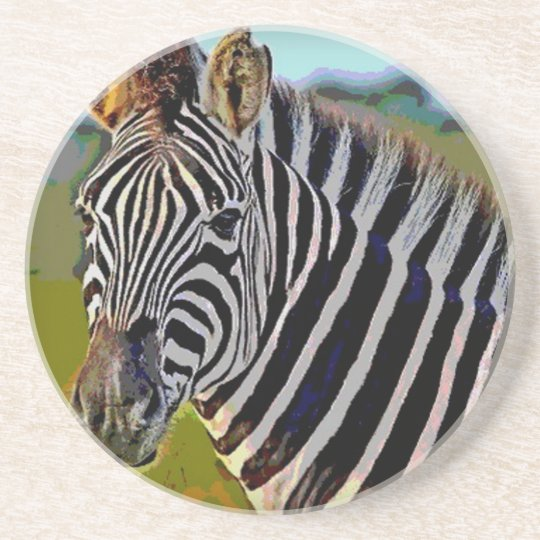 Zebra Untersetzer