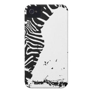 Zebra weidet iPhone 4 cover
