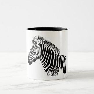 Zebra Zweifarbige Tasse