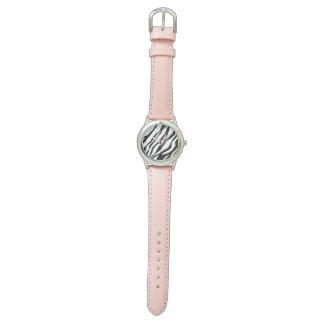 Zebradruck Armbanduhr