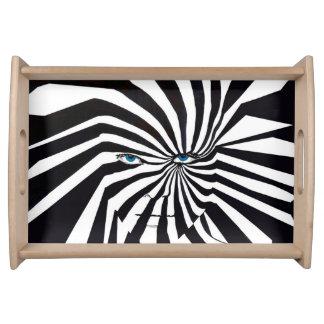 Zebraface Behälter Tablett