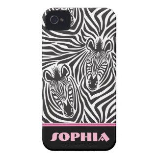 Zebras iPhone 4 Cover