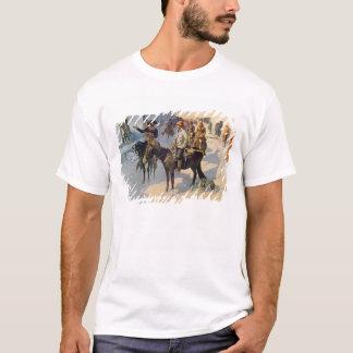 Zebulon Pike, das Santa Fe betritt T-Shirt