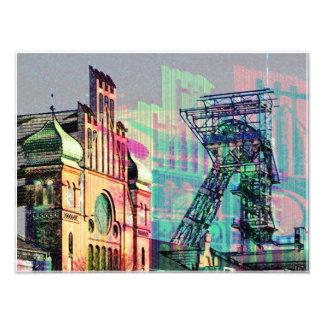 Zeche in Dortmund Fotodruck