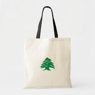 Zeder, der Libanon Tragetasche