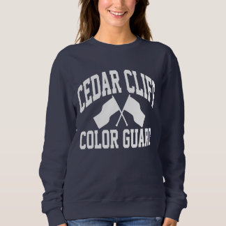 Zedern-Klippen-Farbschutz-Sweatshirt Sweatshirt