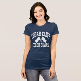 Zedern-Klippen-Farbschutz-T-Stück T-Shirt