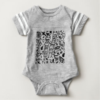 Zef Garnele Baby Strampler