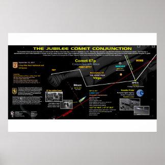Zeichen der Enthüllungs-12 - Jubiläum-Komet 67p Poster