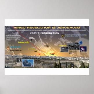 Zeichen der Enthüllungs-12 - Komet 67p 3 Poster