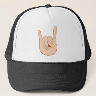 Zeichen der Hörner Emoji Truckerkappe