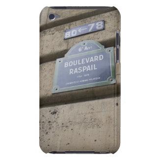 Zeichen der Straße in Paris Barely There iPod Etuis