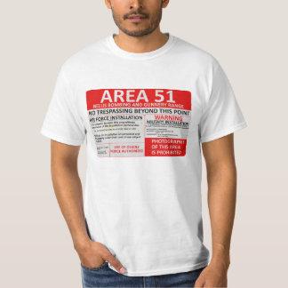 Zeichen des Bereichs-51 T-Shirt