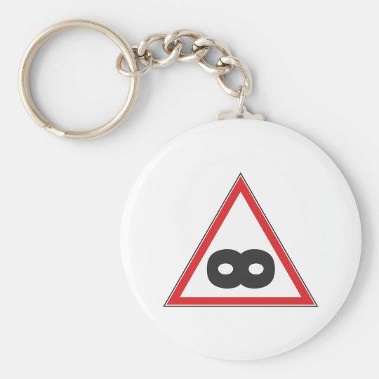 Zeichen sign Unendlich infinity Schlüsselanhänger