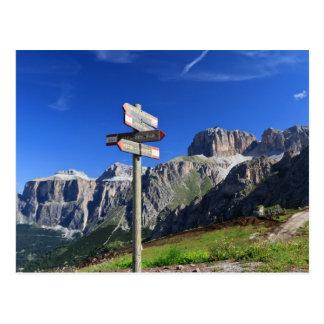 Zeichen und Dolomit Postkarten