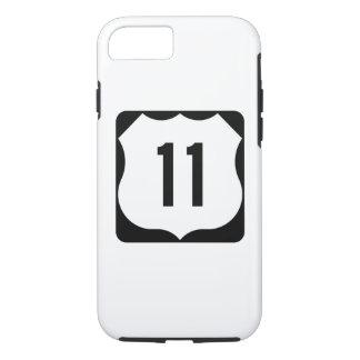 Zeichen US-Weg-11 iPhone 7 Hülle