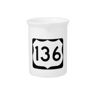 Zeichen US-Weg-136 Krug