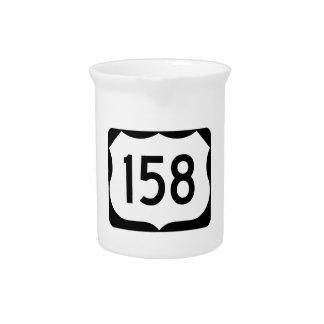 Zeichen US-Weg-158 Krug
