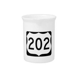 Zeichen US-Weg-202 Krug