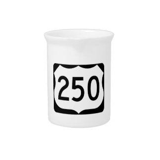 Zeichen US-Weg-250 Krug