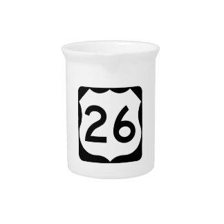 Zeichen US-Weg-26 Krug