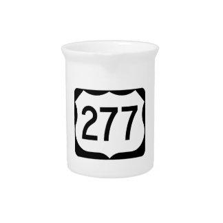 Zeichen US-Weg-277 Krug