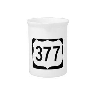 Zeichen US-Weg-377 Krug