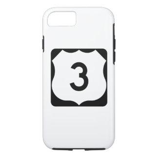 Zeichen US-Weg-3 iPhone 7 Hülle