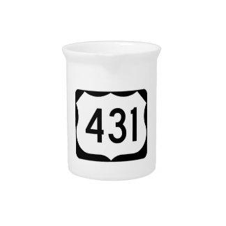 Zeichen US-Weg-431 Krug