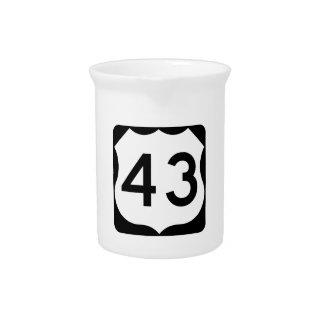 Zeichen US-Weg-43 Krug