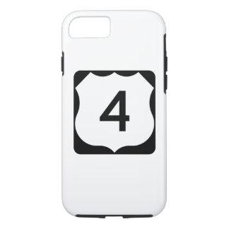 Zeichen US-Weg-4 iPhone 7 Hülle