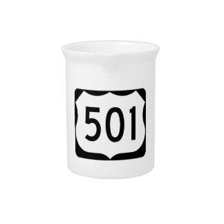 Zeichen US-Weg-501 Krug