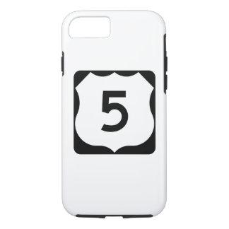 Zeichen US-Weg-5 iPhone 7 Hülle