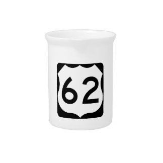 Zeichen US-Weg-62 Getränke Pitcher