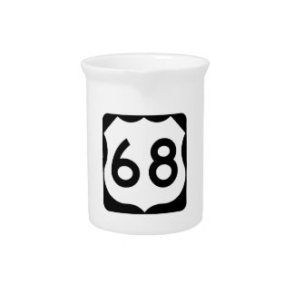 Zeichen US-Weg-68 Krug