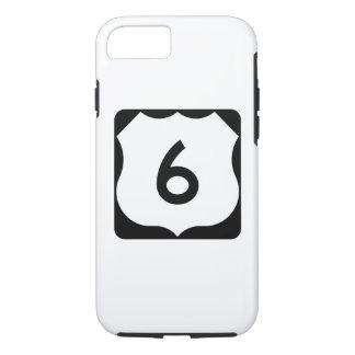 Zeichen US-Weg-6 iPhone 7 Hülle