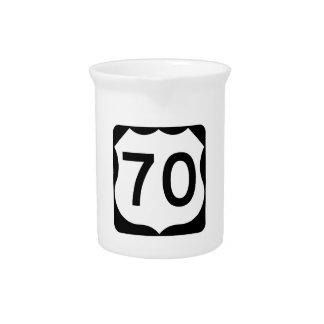 Zeichen US-Weg-70 Krug