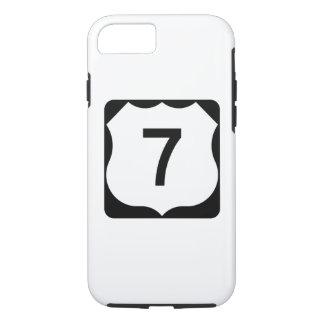 Zeichen US-Weg-7 iPhone 7 Hülle