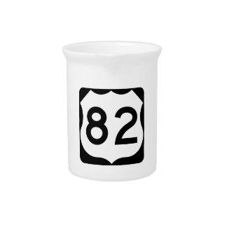 Zeichen US-Weg-82 Krug